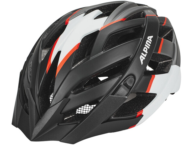 Alpina Panoma L.E. Helmet black-white-neon red